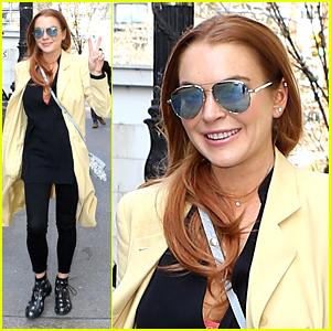 Lindsay Lohan Hits Duran Duran Concert With Egor Tarabasov & Family