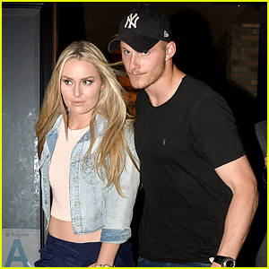 Lindsey Vonn & Alexander Ludwig Spotted on Dinner Date!