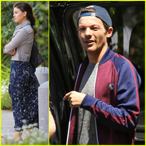 Louis Tomlinson & Danielle Campbell Spend Day With Freddie