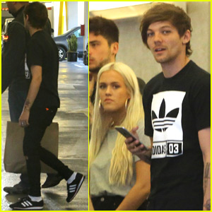 Louis Tomlinson Spends the Day With Freddie & Sister Lottie