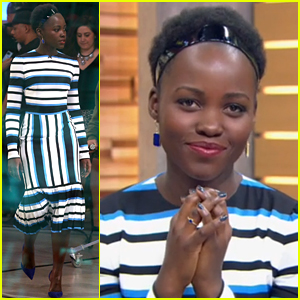 Lupita Nyong'o Gets a Surprise Message from John Boyega