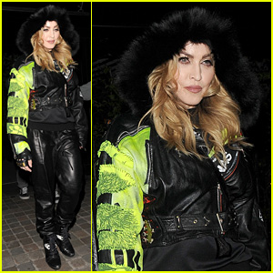 Madonna Hangs Out with Son Rocco Amid Custody Talks