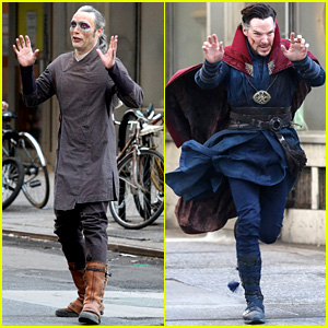 Mads Mikkelsen Seen in Costume on 'Doctor Strange' Set!