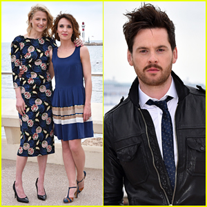 Mamie Gummer & Tom Riley Promote 'The Collection' At MIPTV!