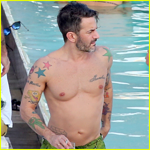 Marc Jacobs Goes Shirtless in Brazil to Celebrate 53rd Birthday