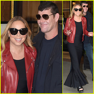 Mariah Carey & Fiance James Packer Shop Together in Paris