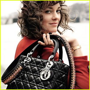 Marion Cotillard Stars in Lady Dior's Latest Campaign!