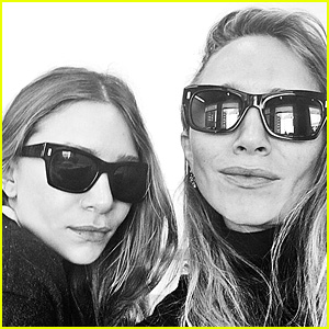 Mary-Kate & Ashley Olsen Share First Public Selfie on Instagram!