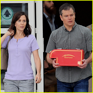 Matt Damon & Kristen Wiig Get to Work on 'Downsizing'