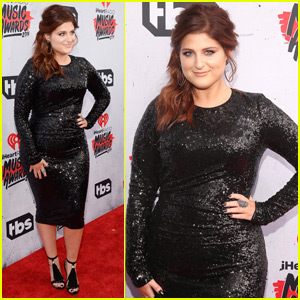 Meghan Trainor Sparkles at the iHeartRadio Music Awards 2016