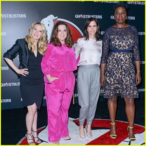 Melissa McCarthy, Kristen Wiig, Kate McKinnon, & Leslie Jones Bring 'Ghostbusters' To CinemaCon 2016!