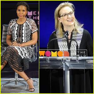 Meryl Streep Sings 'Hamilton' Song With Her Own Feminist Lyrics - Watch Now!