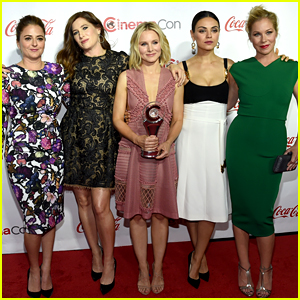 Mila Kunis & 'Bad Moms' Ladies Win Female Stars of the Year at CinemaCon 2016!