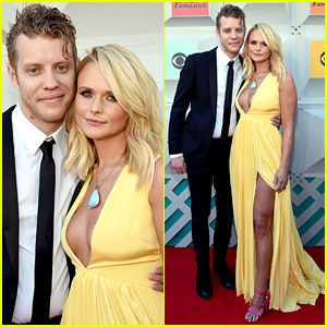 Miranda Lambert & Boyfriend Anderson East Make Red Carpet Debut at ACM Awards 2016