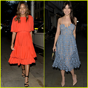 Naomie Harris & Daisy Lowe Attend Restaurant Ours Launch Party