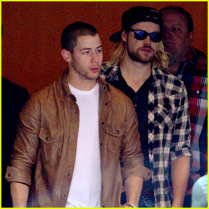 Nick Jonas & Chord Overstreet Hang Out in New Orleans