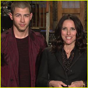 Julia Louis-Dreyfus is Nick Jonas' Biggest Fan in New 'SNL' Promo