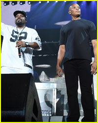 N.W.A's Ice Cube & Dr. Dre Reunite at Coachella 2016!