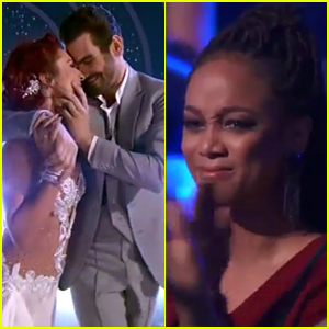 Nyle DiMarco Dances First 10 on 'DWTS,' Brings Tyra Banks to Tears! (Video)