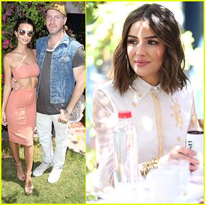 Emily Ratajkowski & Boyfriend Jeff Magid Enjoy an Afternoon Coachella Party!