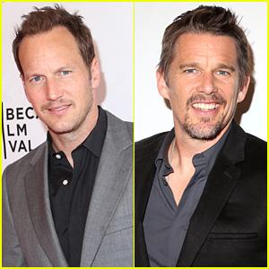 Patrick Wilson & Ethan Hawke Premiere Films at Tribeca Film Festival