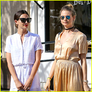 Pregnant Behati Prinsloo Goes Baby Shopping with Lily Aldridge!