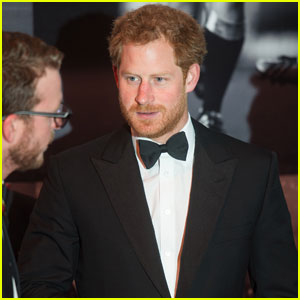 Prince Harry Goes Super Formal for BT Sport Industry Awards