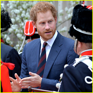 Prince Harry Meets with Veterans at Charity Luncheon