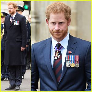 Prince Harry Commemorates Australian & New Zealand Forces At ANZAC Day Service!