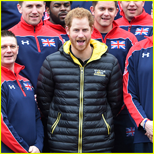 Prince Harry Unveils U.K. Invictus Games Team