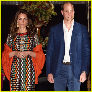 Prince William & Kate Middleton Recieve Warm Welcome By King & Queen of Bhutan!