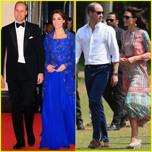 Prince William & Kate Midleton Attend Bollywood-Inspired Charity Gala During Royal Visit to India