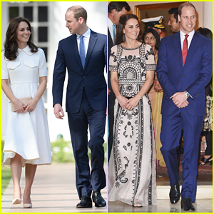 Prince William & Kate Midleton Celebrate Queen's 90th Birthday During Royal Visit to India!
