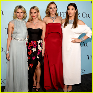 Reese Witherspoon & Jessica Biel Glam Up for Tiffany & Co. Event with Diane Kruger & Naomi Watts!