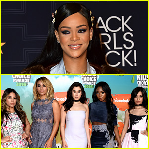 Rihanna's 'Work' Remains Top Song, Fifth Harmony Get First Top 10 Hit!