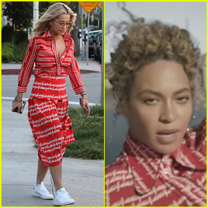 Rita Ora Wears Beyonce's Exact 'Formation' Look Amid 'Becky' Speculation
