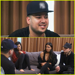 Rob Kardashian Confronts Sisters Over Blac Chyna Engagement in New 'KUWTK' Clip - Watch Now!