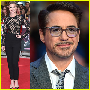 Robert Downey, Jr. & Marvel Co-Stars Premiere 'Captain America: Civil War' in London!