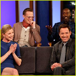 Robert Downey Jr.'s Daughter Avri Is Team Iron Man - Watch Now!