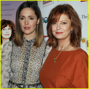 Rose Byrne & Susan Sarandon Screen 'The Meddler' in NYC
