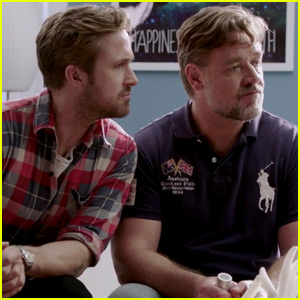 Ryan Gosling & Russell Crowe Go to Couple's Therapy in 'The Nice Guys' Promo