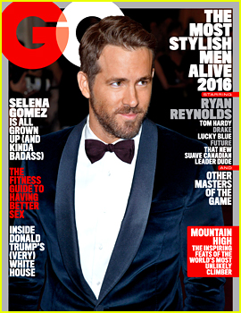 Ryan Reynolds & Four Other Stars Are GQ's Most Stylish Men!