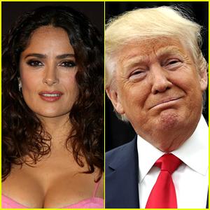 Salma Hayek Shades Donald Trump for '7-Eleven' Comment