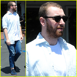 Sam Smith Does Lunch with Friends at Mauro's