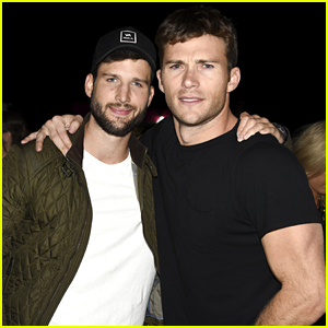 Scott Eastwood Muscles Up at Coachella with Parker Young!
