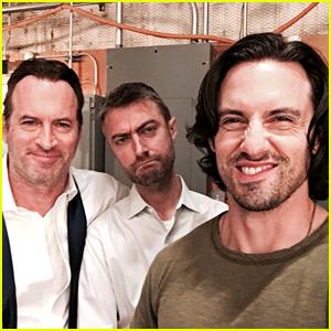 'Gilmore Girls' Reboot Reunites Luke & Jess - New Set Photos!
