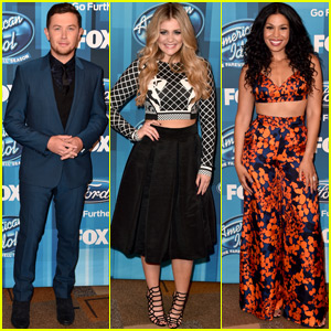 Scotty McCreery, Jordin Sparks & Lauren Alaina Arrive at 'American Idol' Finale