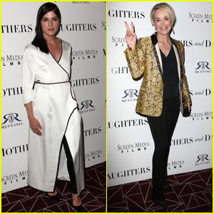 Selma Blair & Sharon Stone Help Premiere 'Mothers & Daughters'