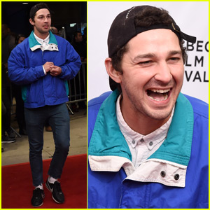 Shia Labeouf Helps Premiere 'LoveTrue' at Tribeca Film Fest