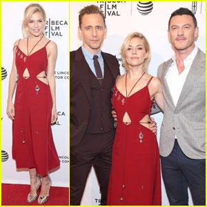 Sienna Miller & Tom Hiddleston Premiere 'High-Rise' With Luke Evans at Tribeca 2016